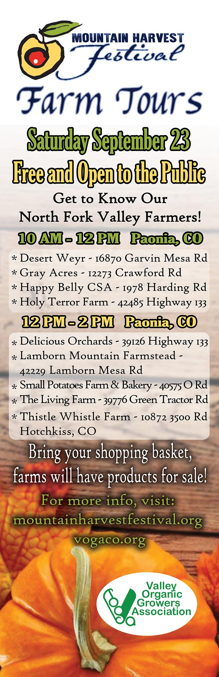 Mountain Harvest Farm Tours image