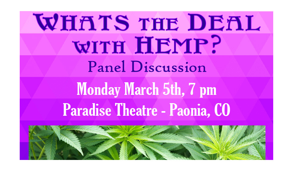 Hemp Panel Discussion