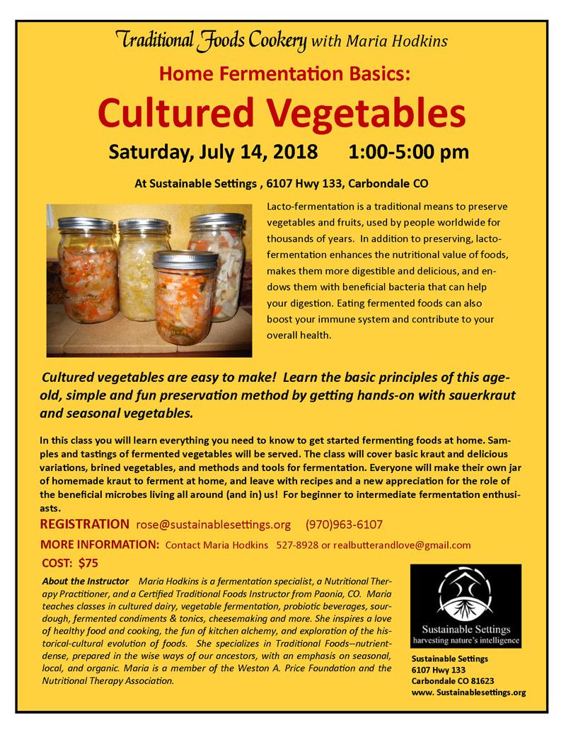 Cultured Vegetables image