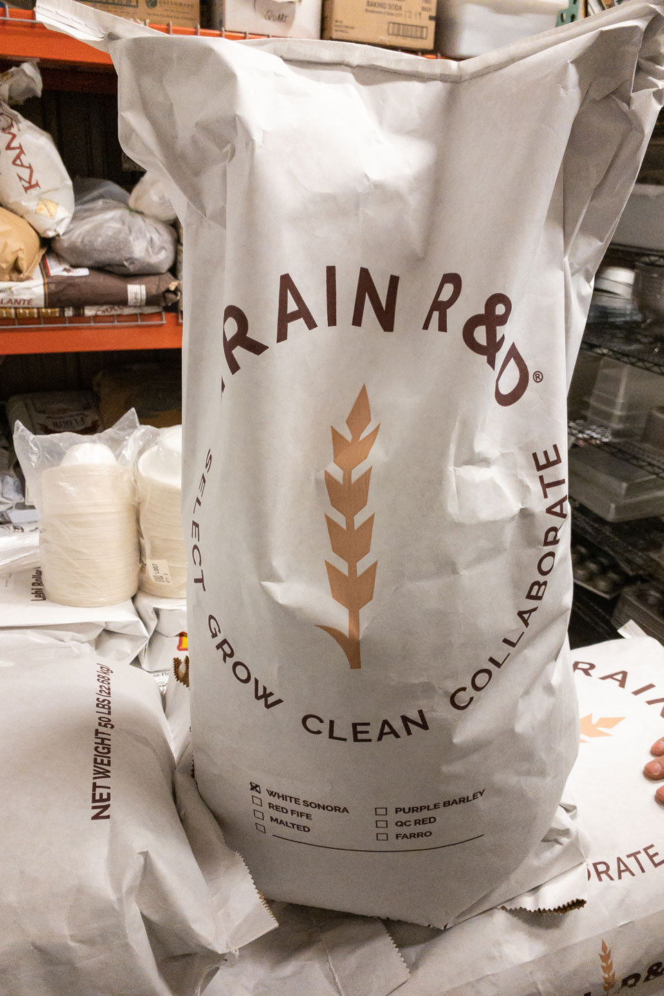 Grain R and D bag image